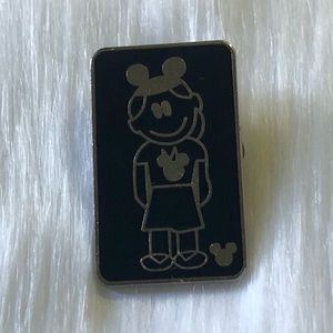 🔮 5/$25 Daughter With Mouse Ears Disney Pin